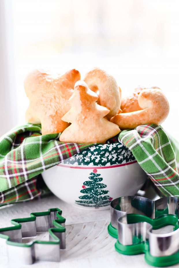Christmas Shaped Rolls Recipe