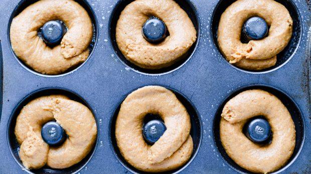 Cinnamon Sugar Baked Pumpkin Donuts