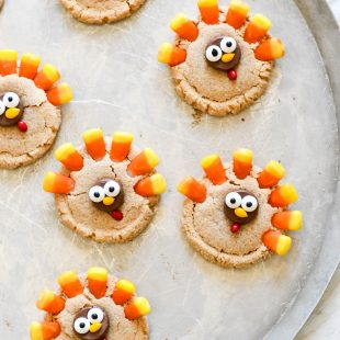 Cute Turkey Cookies For Thanksgiving
