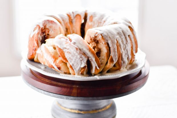 Cranberry Bliss Pull-apart Bundt