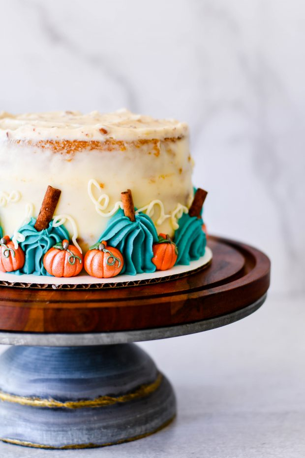 Pumpkin Roll Layer Cake Recipe