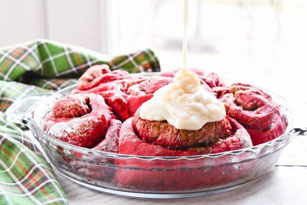 Red Velvet Cinnamon Rolls Recipe