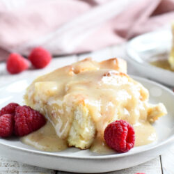 Easy Vanilla Bread Pudding Recipe
