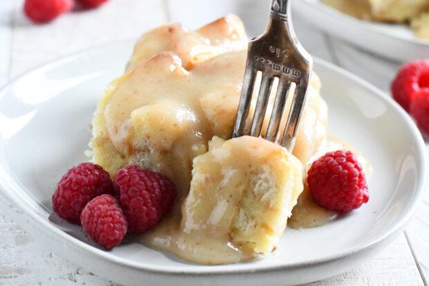 Easy Vanilla Bread Pudding Recipe