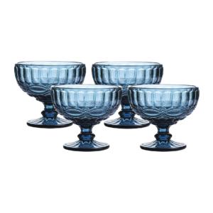Vintage Glass Dessert Bowls
