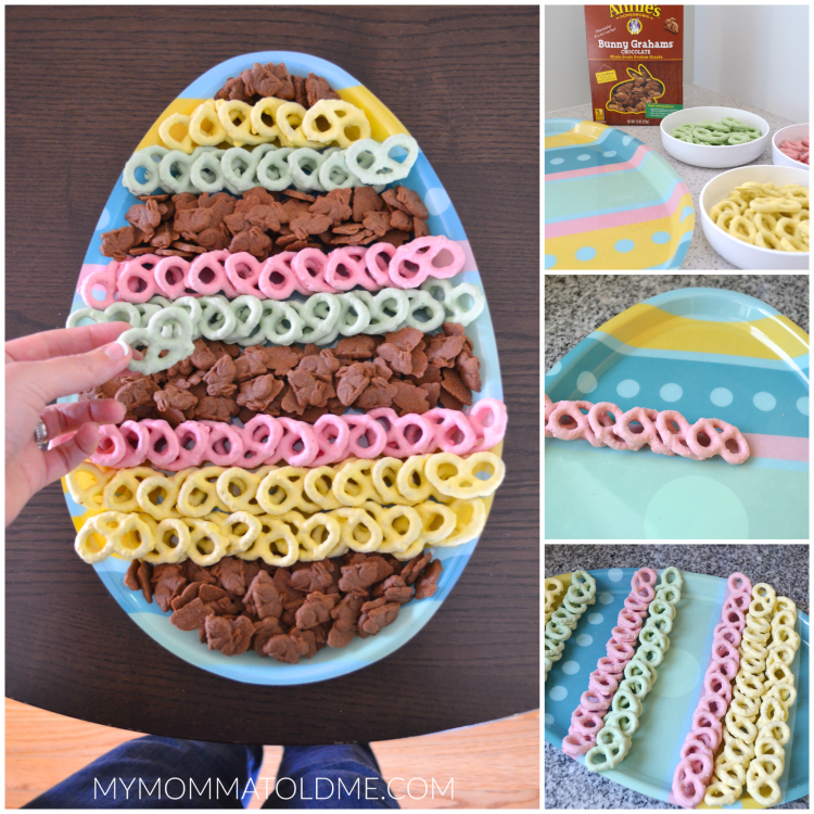 No bake Easter dessert tray easy easter party ideas