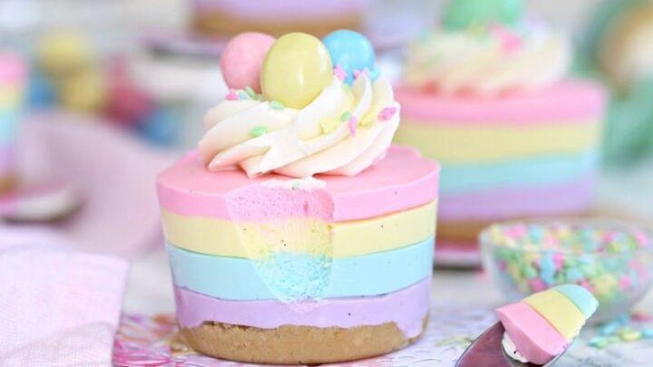 easter no bake mini cheesecakes 6