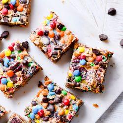 Monster Magic Cookie Bars