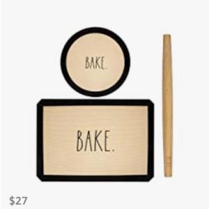 Rae Dunn 3-piece Baking Set