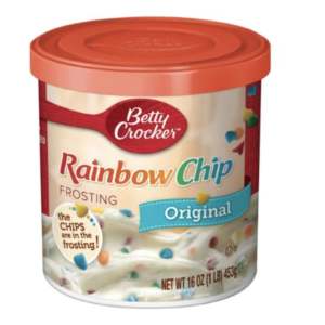 Rainbow Chip Frosting