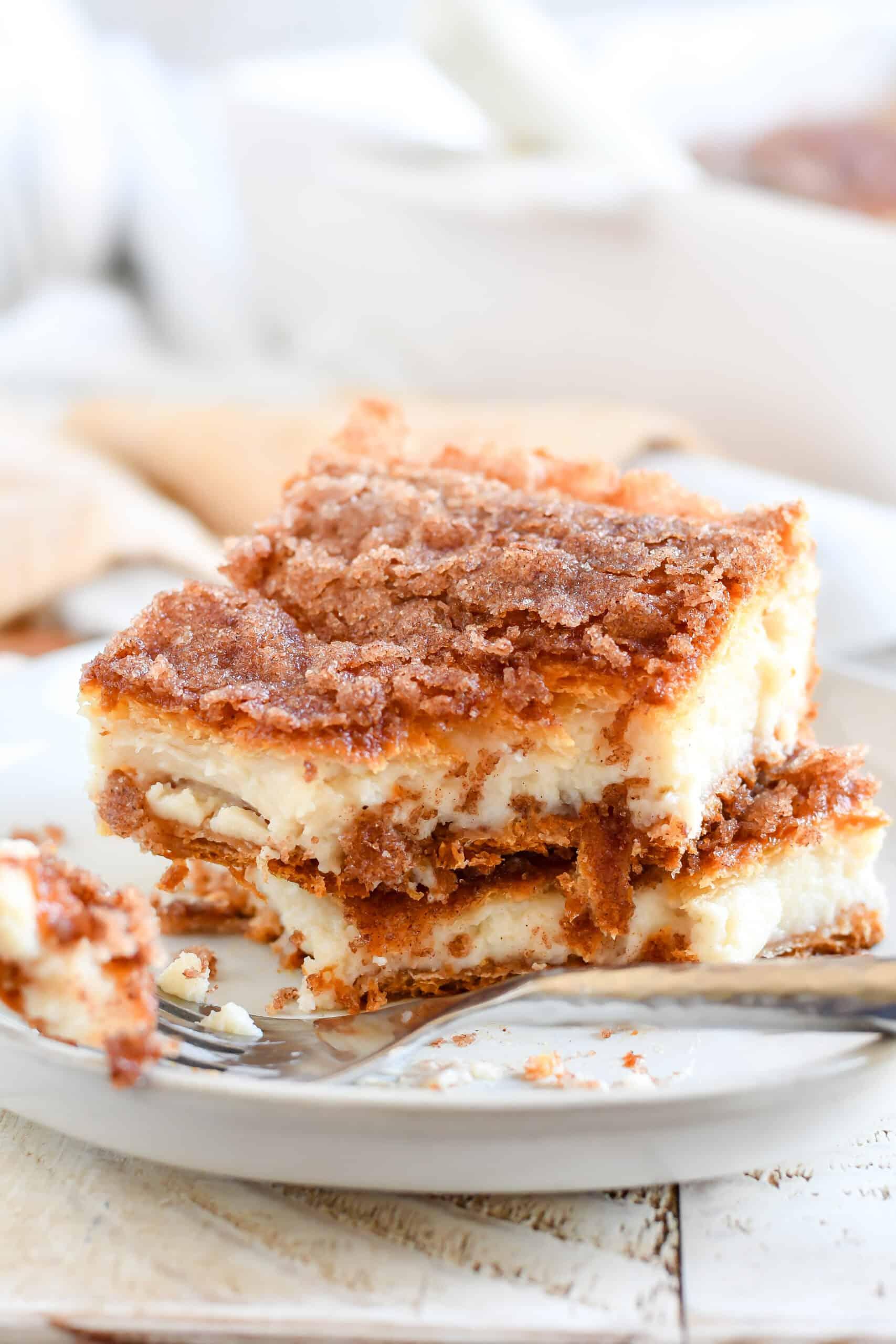 Recipe For Churro Cheesecake Bars