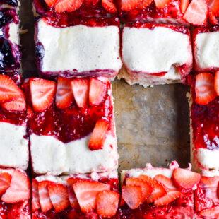Berry Cheesecake Dessert Pizza Recipe