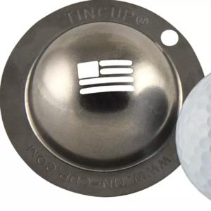 Tin Cup Golf Ball Marker