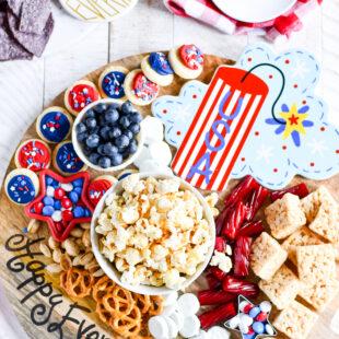 Easy 4th Of July Snack Board Ideas